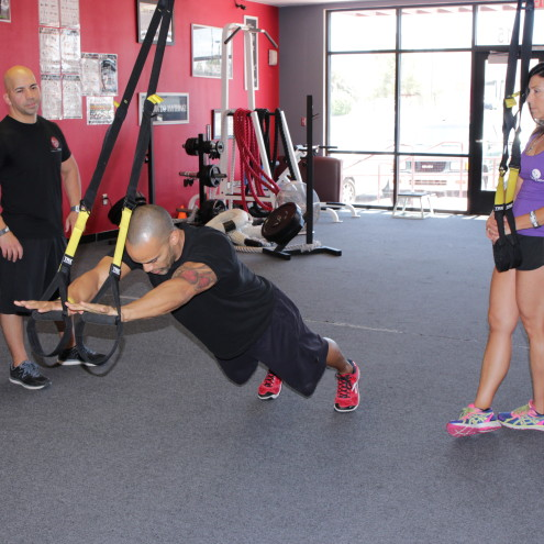 TRX at Tony Cress Personal Training