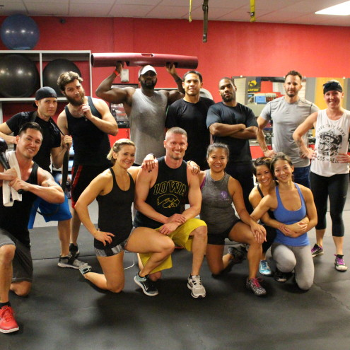 Tuesday night WTF Fitness Group Workout