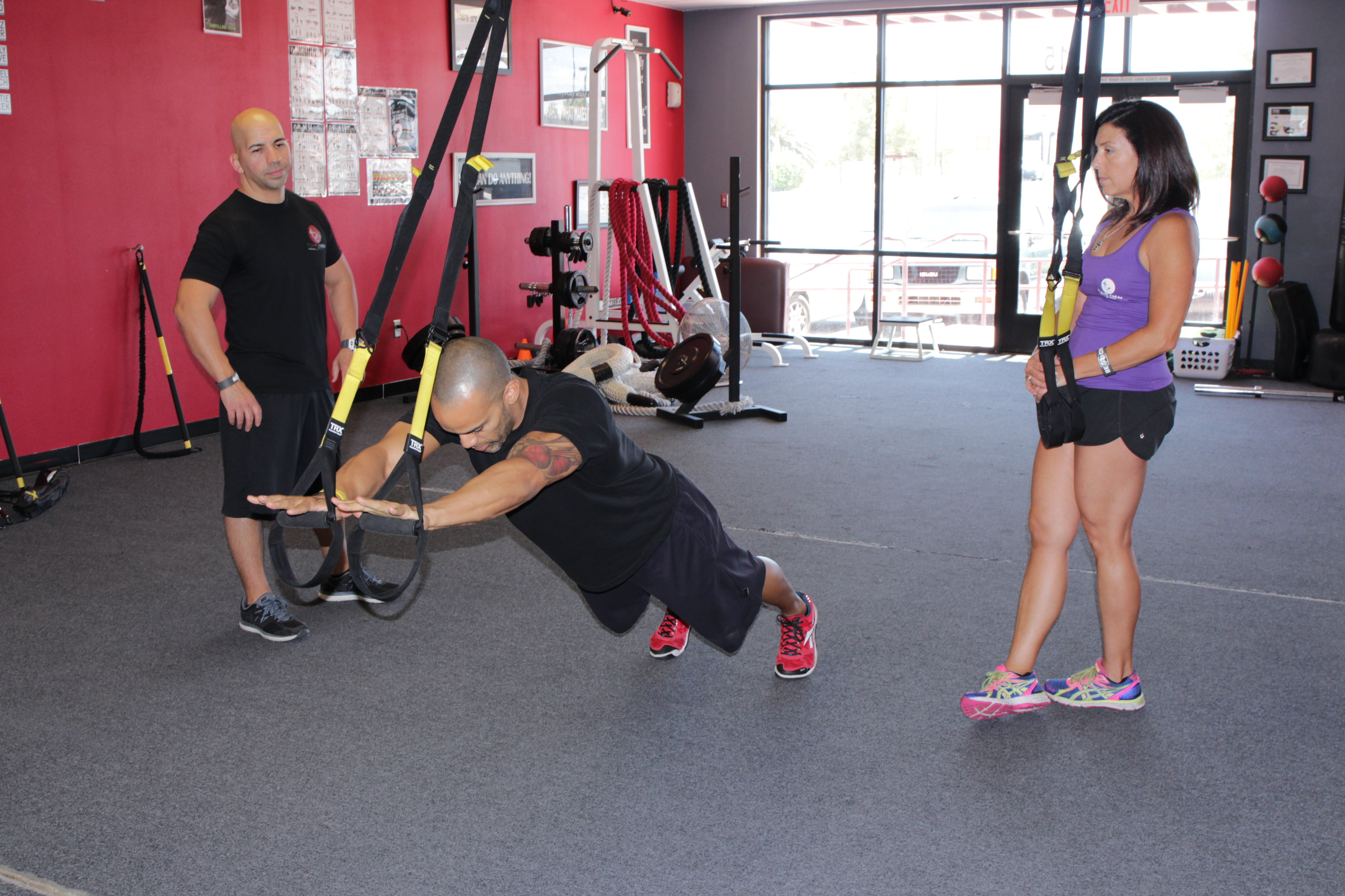 Are You Short On Time?  Here's a quick TRX Workout